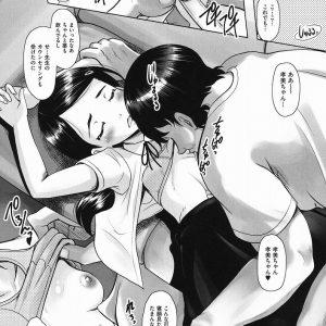 息子の女友達が寝ているところに、生チ〇ポ挿入&中出ししちゃう鬼畜おやじがこちらです・・・【エロ漫画:りとるメスホール:無色三太郎】